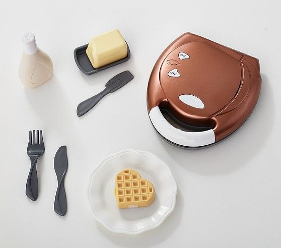 Copper Waffle Maker Toy Kitchen Accessories Toy Kitchen
