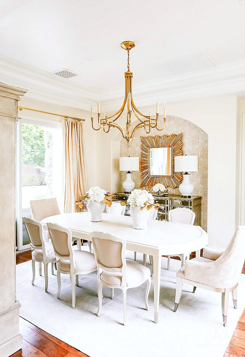 Glam Dining Room Reveal Part 2 Elegant Dining Room Gold