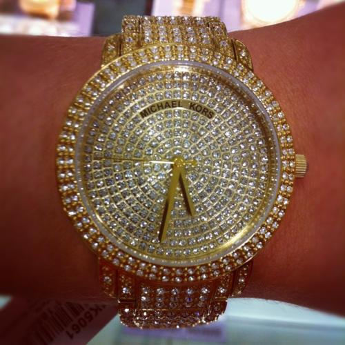 Michael Kors  3 Diamond watch  8c06cb22886a
