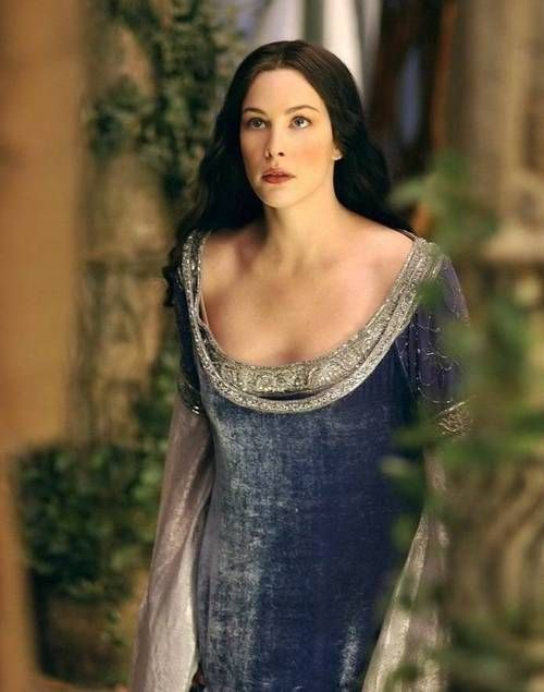 Arwen Lord Of The Rings Medieval Dress Costume Design