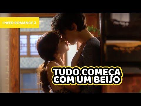Português Sub I Need Romance 3 Tudo Começa Com Um Poderoso Beijo Dorama Coreano Youtube Romance Beijo Youtube