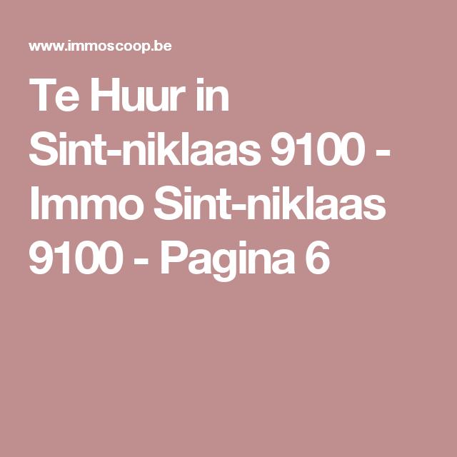 Te Huur in Sint-niklaas 9100 - Immo Sint-niklaas 9100 - Pagina 6