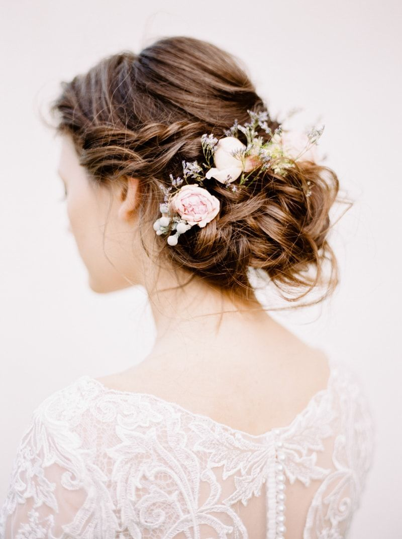 Wedding Hairstyle From Russian Botanical Wedding Inspiration Wedding Guest Hairstyles Short Wedding Hair Wedding Hairstyles