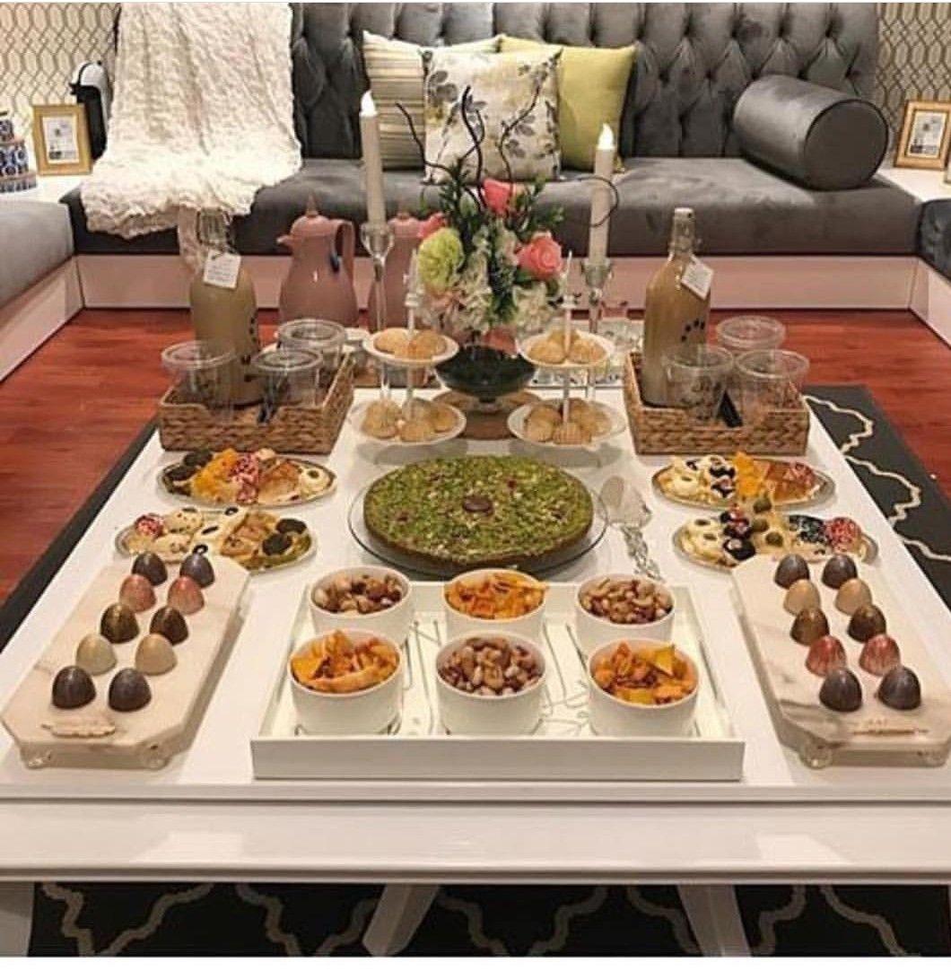Pin By N A On تنسيق سفرة Buffet Food Cafe Food Food Decoration