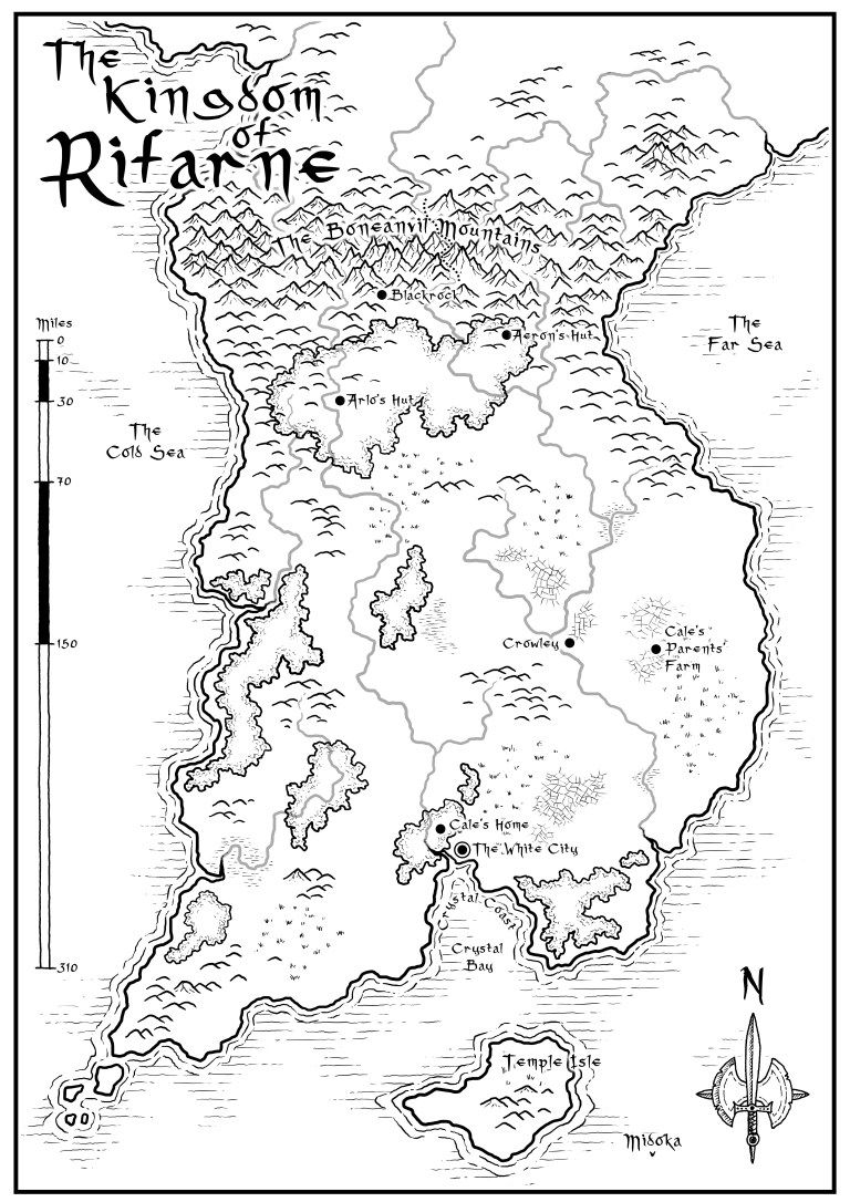 World-Building in Fantasy Fiction - How to Name Countries, Cities
