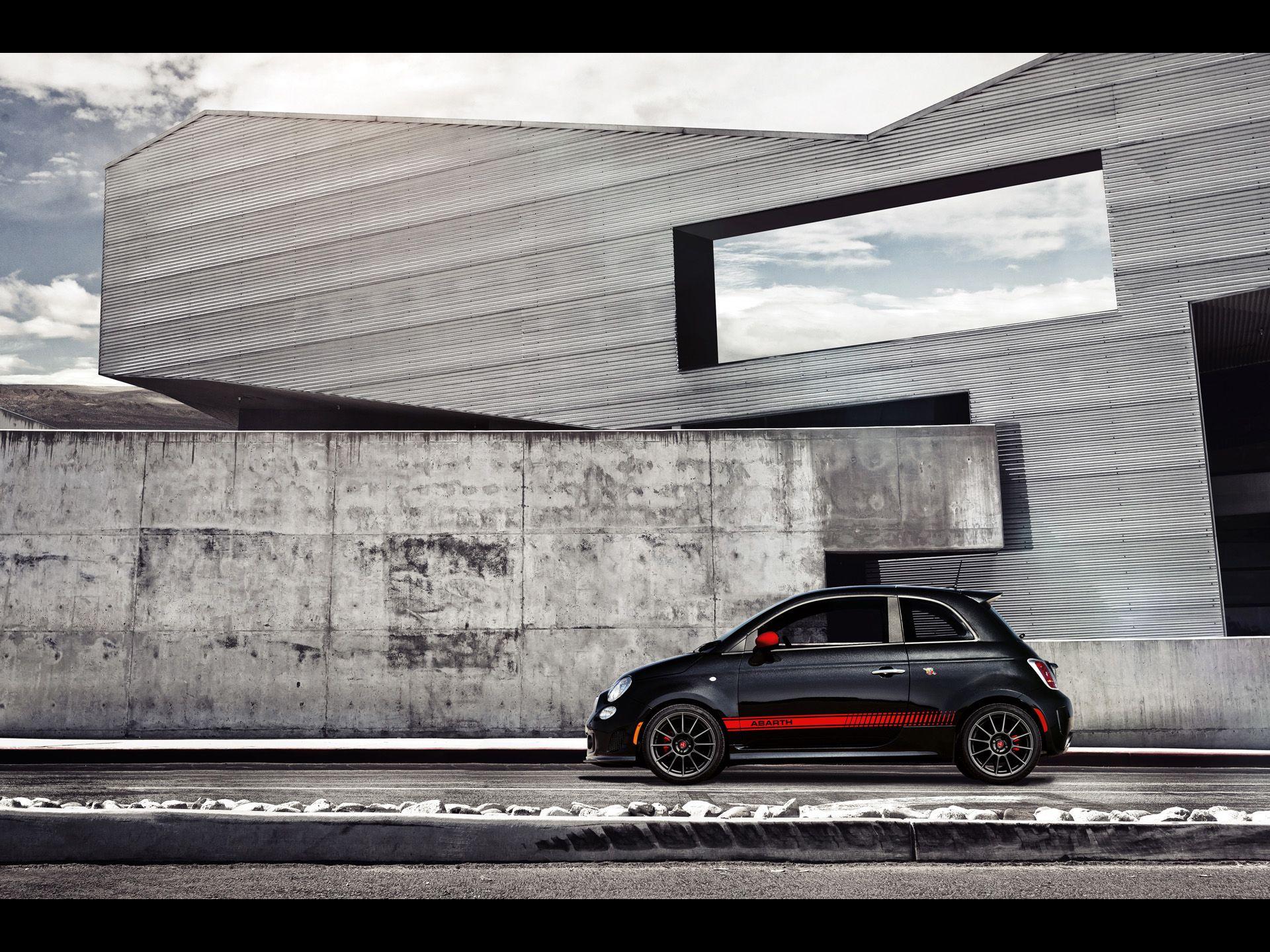 Fiat 500 Abarth Wallpaper 3 アバルト