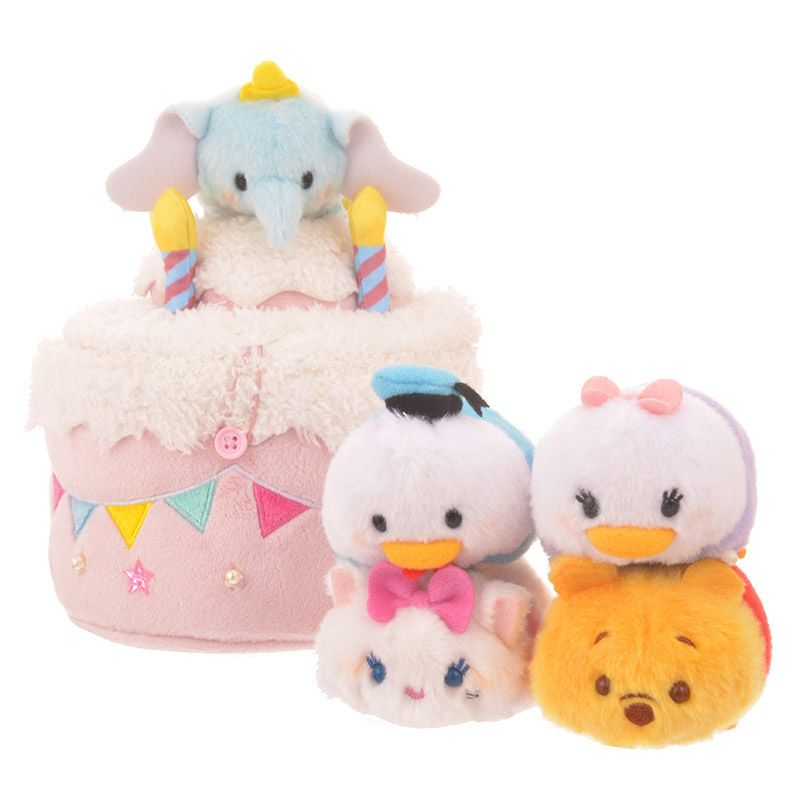 Japan Tsum Tsum Dumbo Cake Set released 18/10/2017