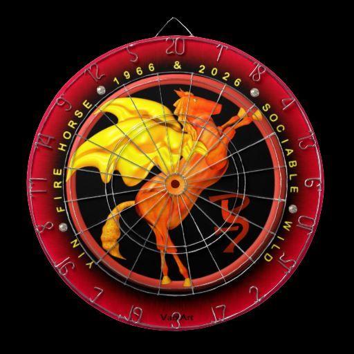 Valxart leopard dartboard | Zodiac Astrology Calendar by