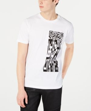 7b8512a02 HUGO BOSS HUGO MEN'S QR CODE GRAPHIC T-SHIRT. #hugoboss #cloth ...