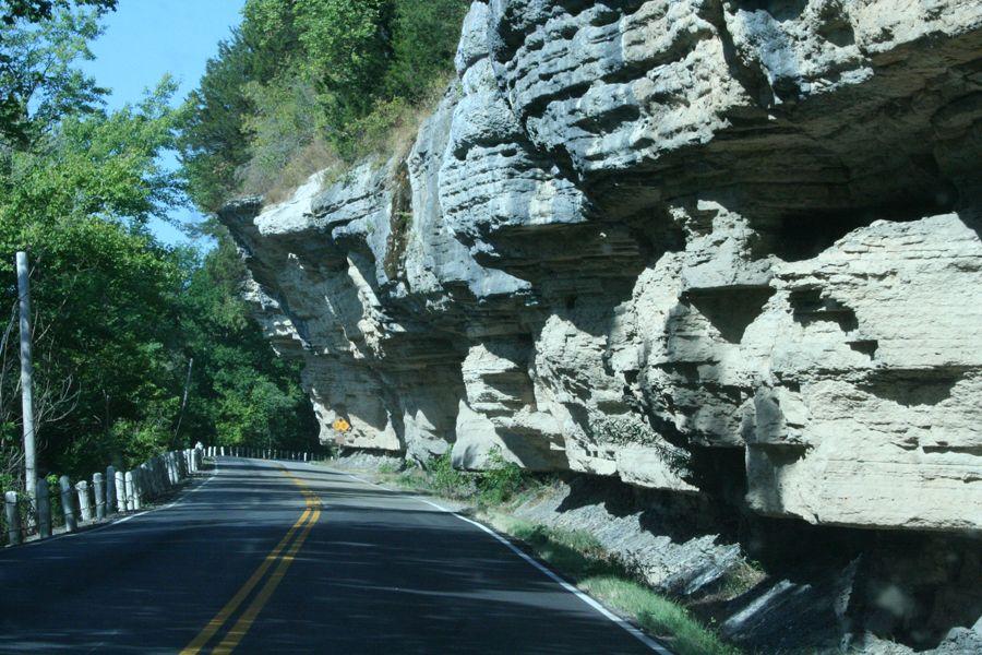 Noel Cliffs Tourism Ozarks Natural Landmarks