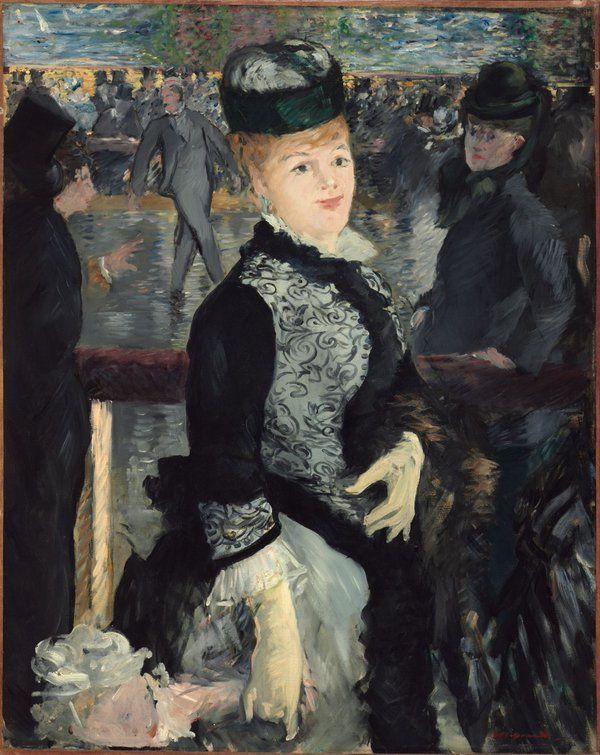 Édouard Manet「Au Skating」(1877)