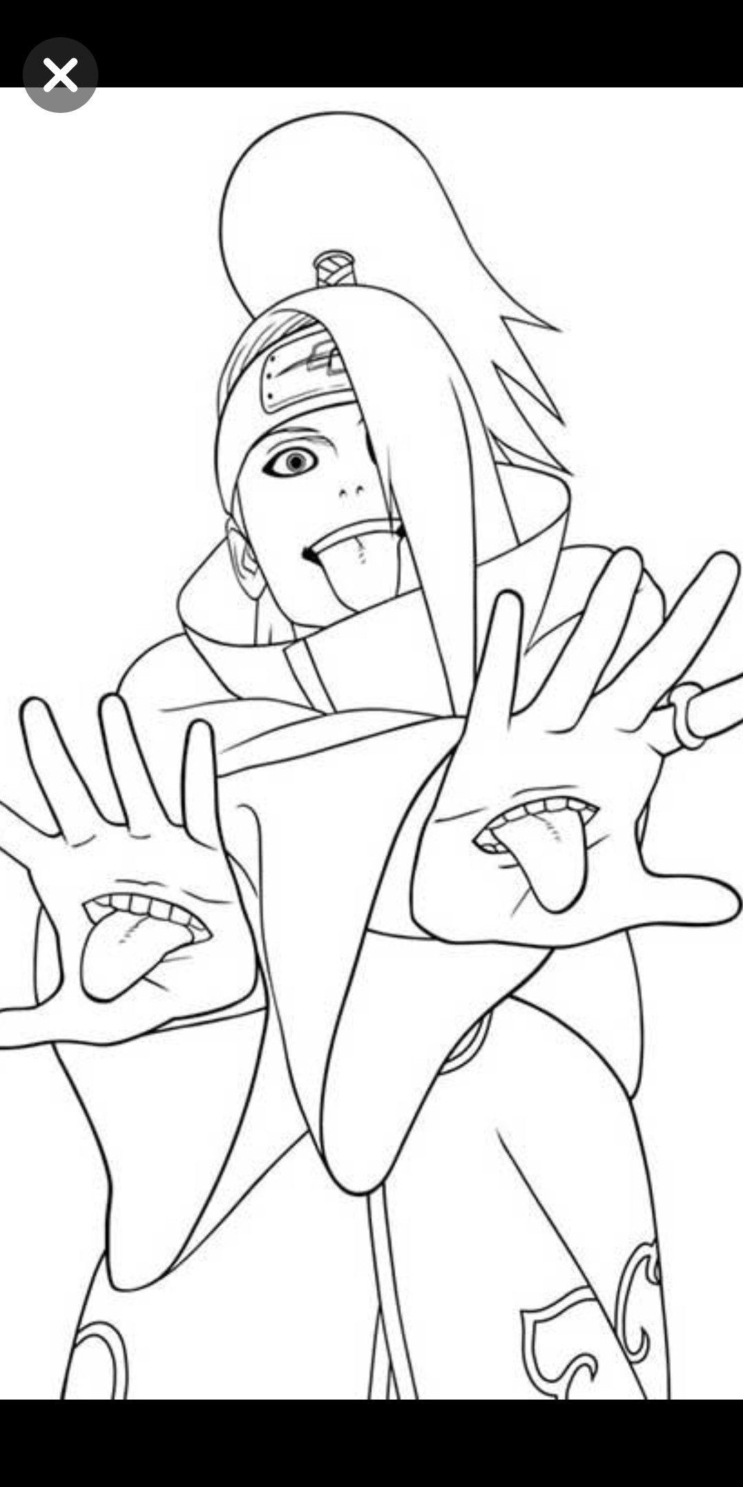 Pin by Bachi Narchemashvili on Character drawing Naruto