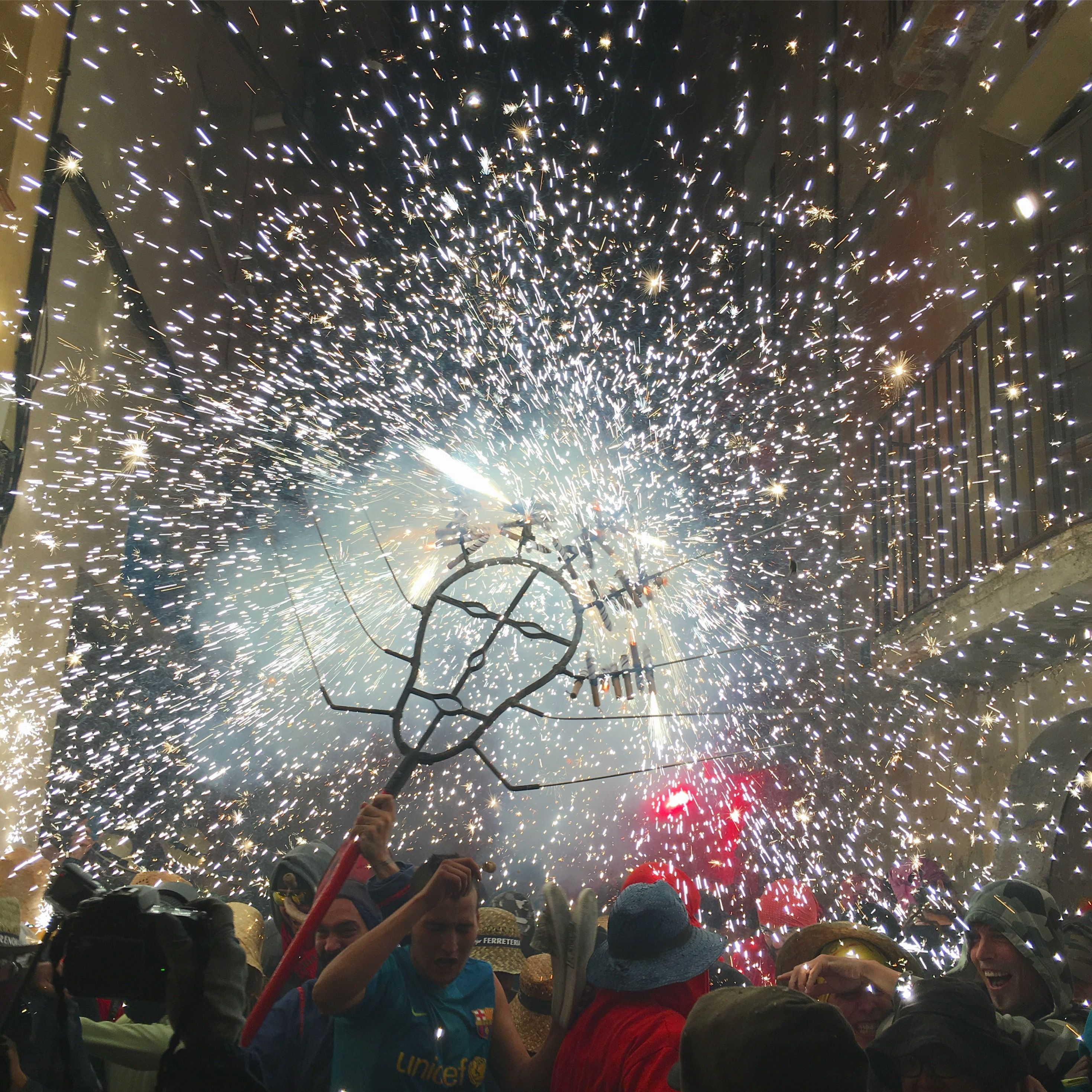 Correfoc de Sant Quintí de Mediona. Llúcifer. #culturapopular #catalunya #festesitradicions #diables