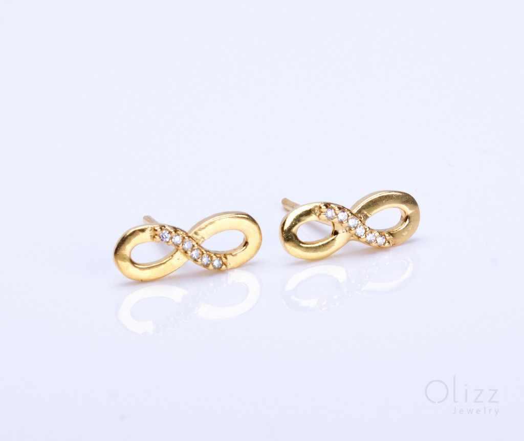 earrings john image glam women infinity sabo sparkling stud thomas soul
