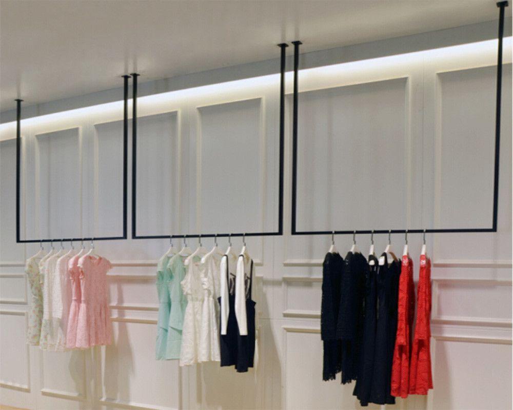 Ceiling Hanging Clothing Racks Wholesale