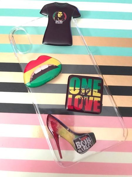 PoP! One Love Cell Phone Case Standout with your custom made cell phone case! No two ever made the