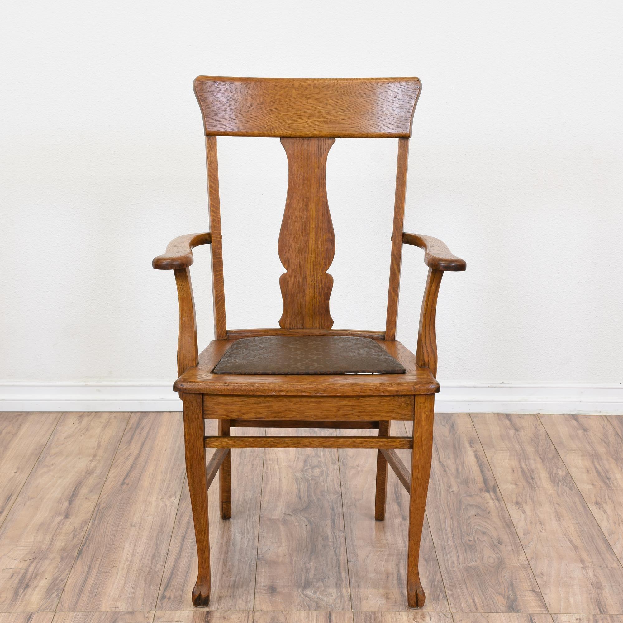 Set Of 5 Tiger Oak Vintage Dining Chairs | Stühle, Esszimmer und Tiger
