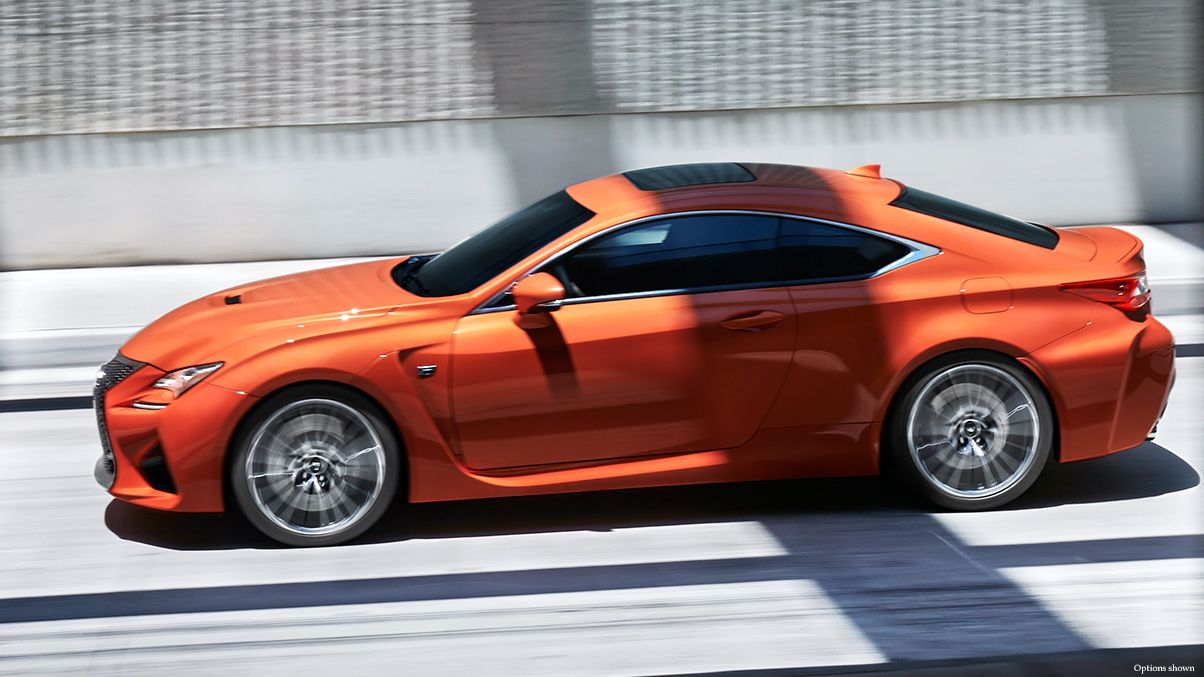 Lexus RC F Luxury Sports Car Gallery Thumbnail Lexus