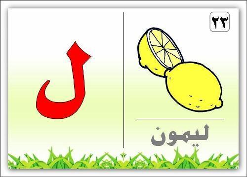 صور حرف اللام صور حرف ل Arabic Alphabet Letters Arabic Alphabet Alphabet Flashcards