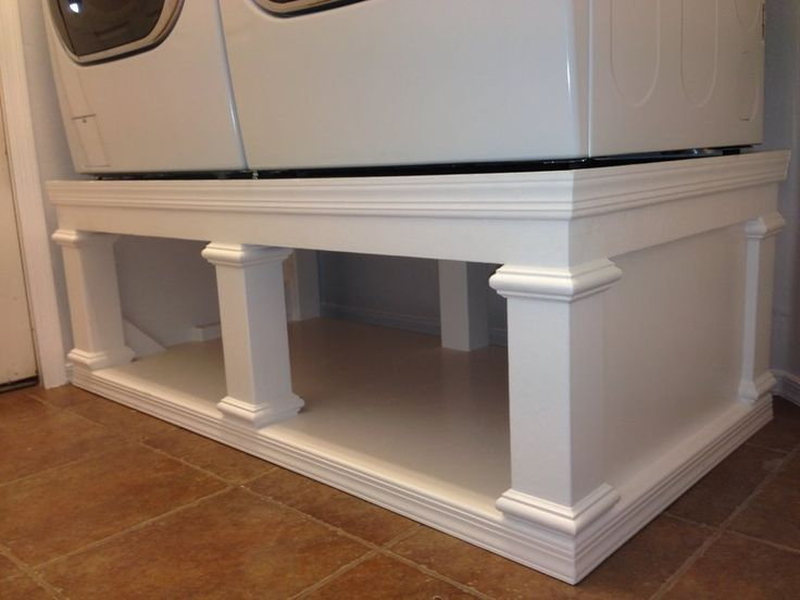 Ryans washerdryer pedestal do it yourself home projects from ryans washerdryer pedestal do it yourself home projects from ana white solutioingenieria Choice Image