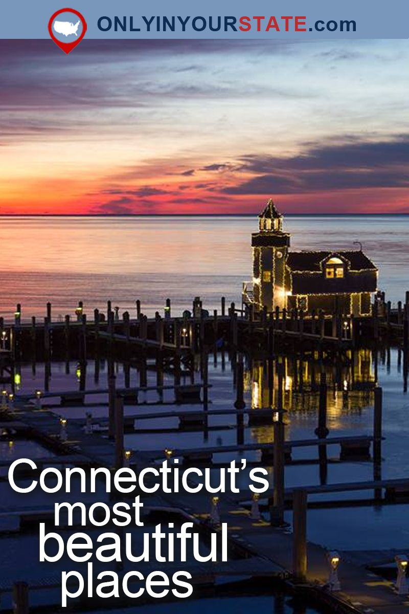 Travel | Connecticut | Attractions | USA | Beautiful Places | Things To Do | Destinations | Day Trips | Places To Visit | New England | Natural Beauty | Hidden Gems | Outdoors | Small Towns | Places To Stay | Lighthouse | Candlewood Lake | Gardens | Lavender Farm | Fairy Tale | Secret Garden | State Parks | Winery | Places To Eat | Dining | Food | Luxury Hotel #beautifulplaces