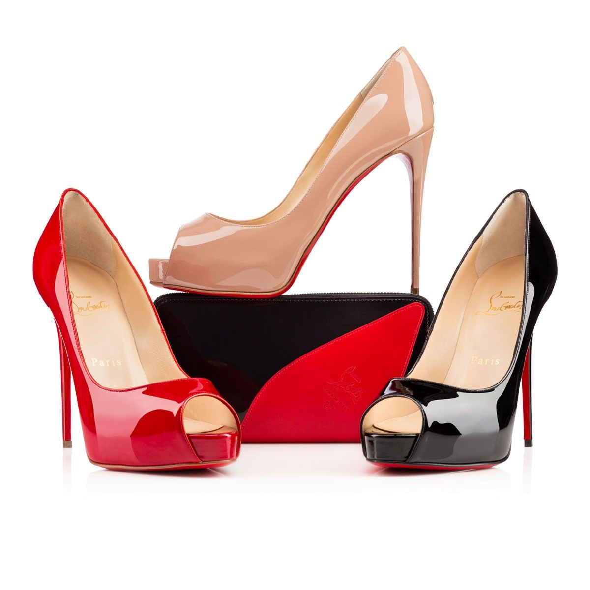 2015 Christian Louboutin Prive 120mm Women Coupon_435