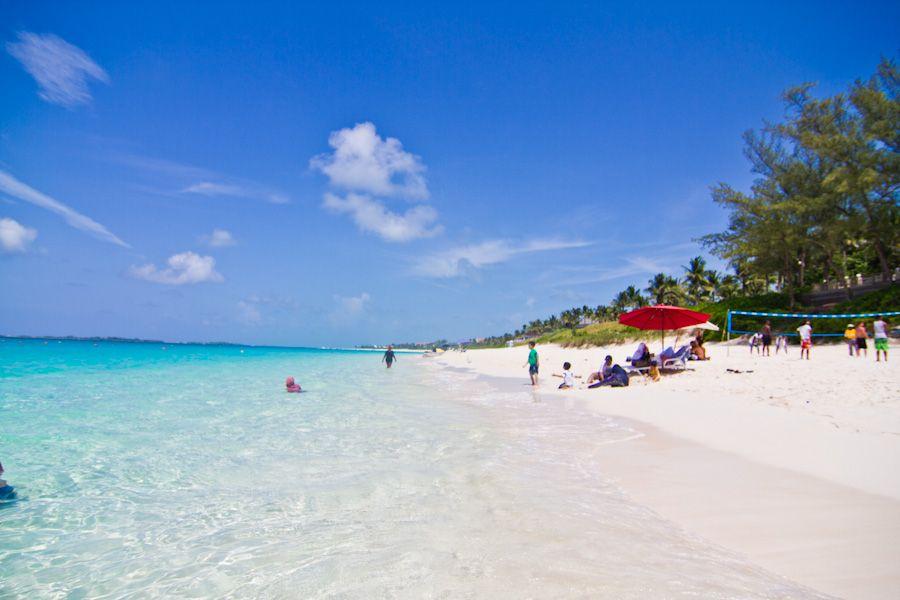 Paradise Island Bahamas Beaches Atlantis Cabbage Beach