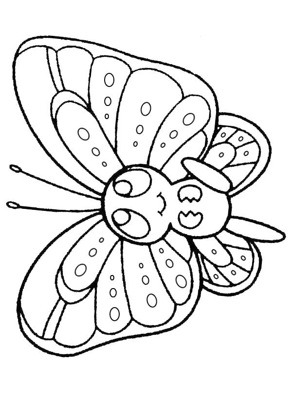 - 14+ Coloring Sheets For Kids Butterfly Coloring Page, Free Online Coloring,  Online Coloring Pages