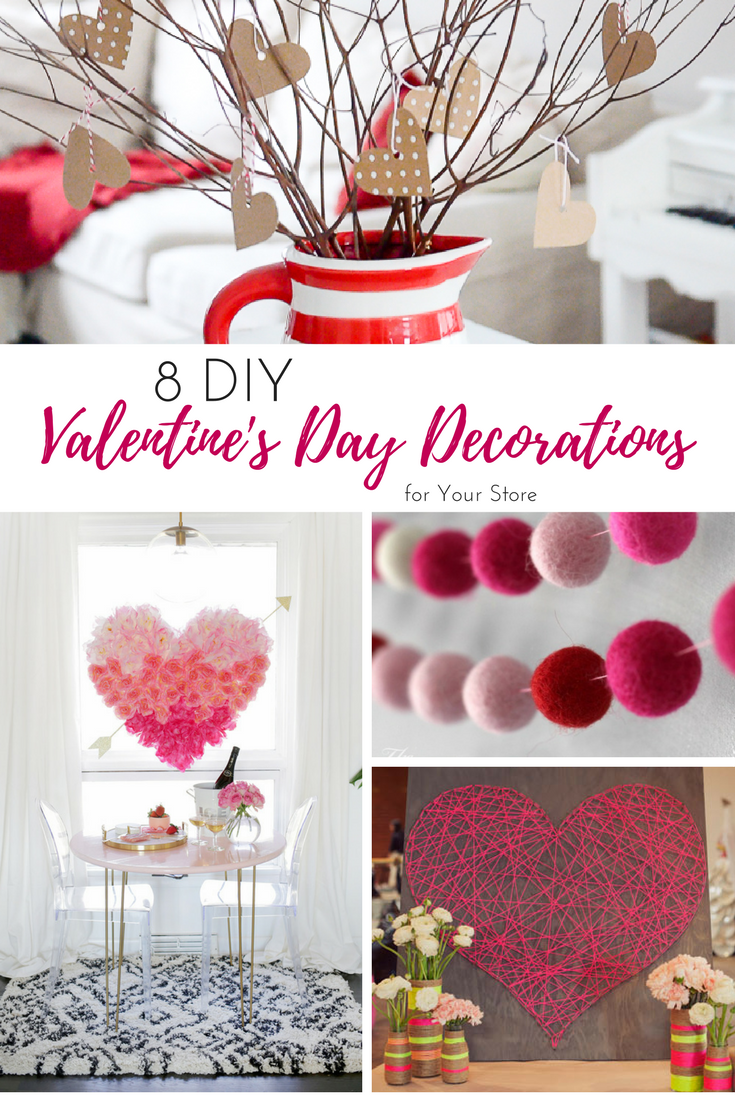 8 Diy Valentine S Day Decorations For Your Store S Window Displays