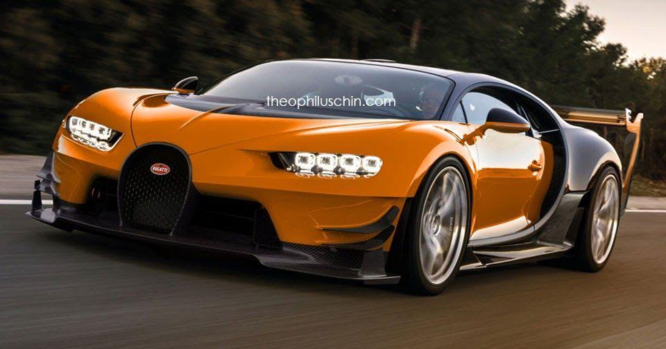 Bugatti Chiron Super Sport Dreamt Up With Vision Gt Styling Carscoops Super Car Bugatti Bugatti Chiron Bugatti