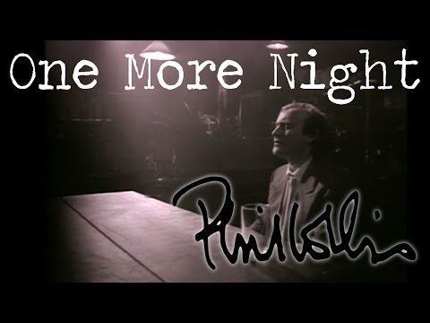 Phil Collins I Wish It Would Rain Down Official Music Video Youtube Music Memories One More Night Phil Collins