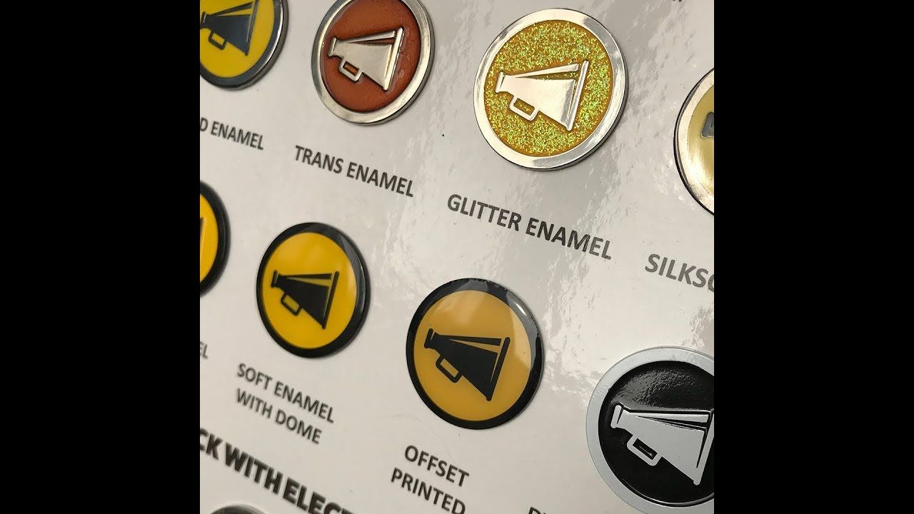 Enamel Pin Design Finishing Guide | Custom Enamel Pins | Pin