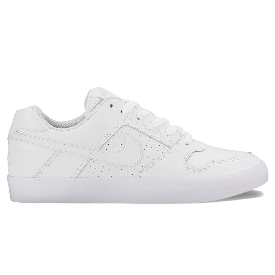 finest selection 4784a f6b55 Nike SB Delta Force Vulc Men s Skate Shoes, Size  10.5, White Oth