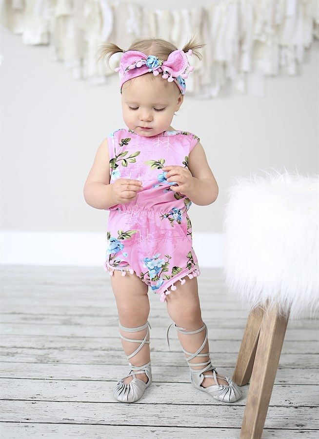 80246fec3 Your baby girl will definitely be the talk of the town in this adorable Pom-