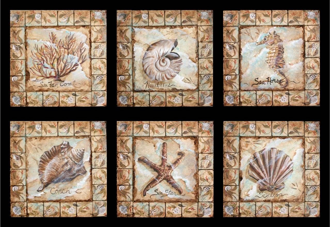 - Decorative Tile Hand-Painted Decorative Tile Inserts / Lovee