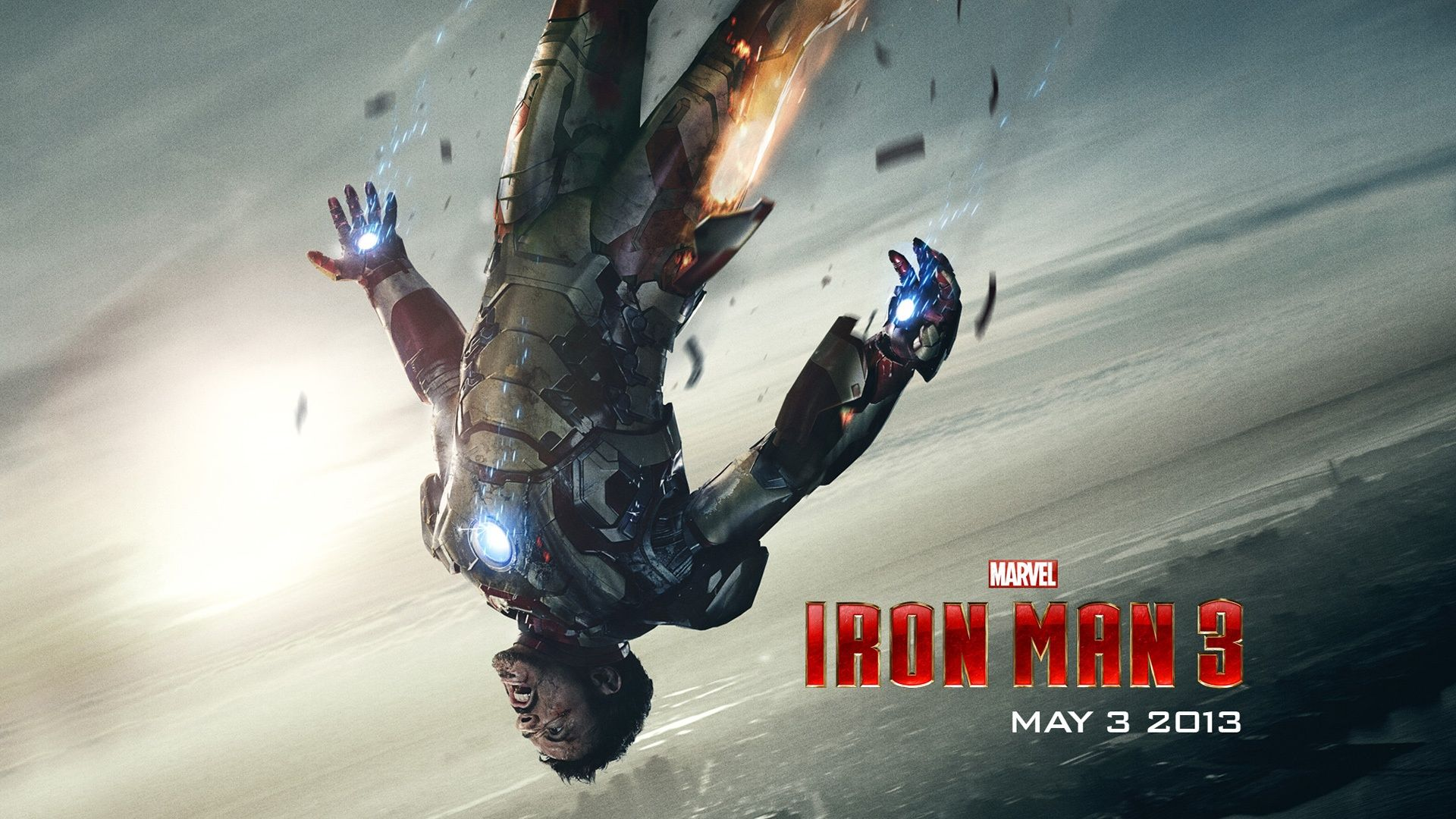 Tony Stark In Ironman 3 1080p Hd Wallpaper Movies