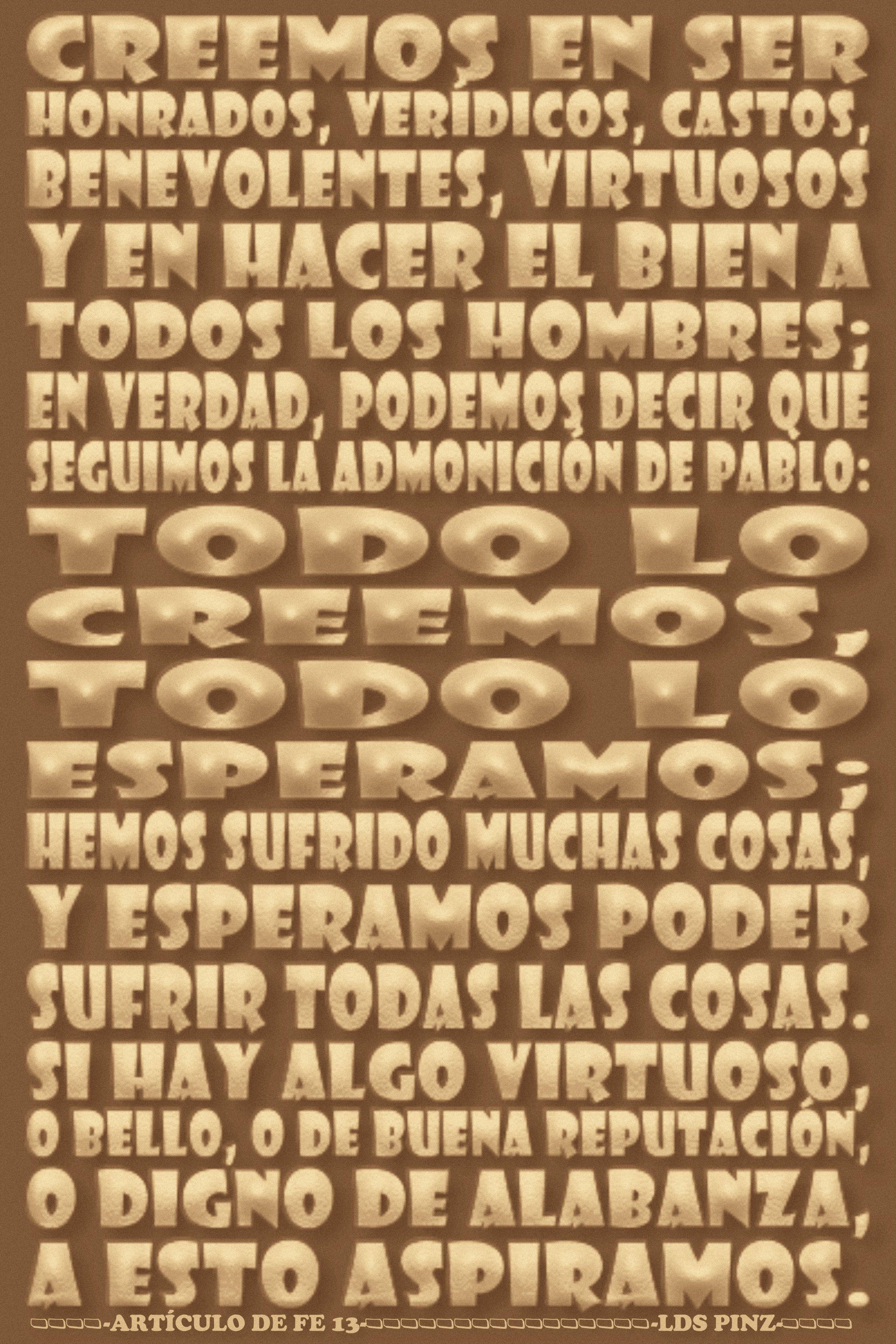 LOS ARTÍCULOS DE FE - www.lds.org/scriptures/pgp/a-of-f/1?lang=spa ...