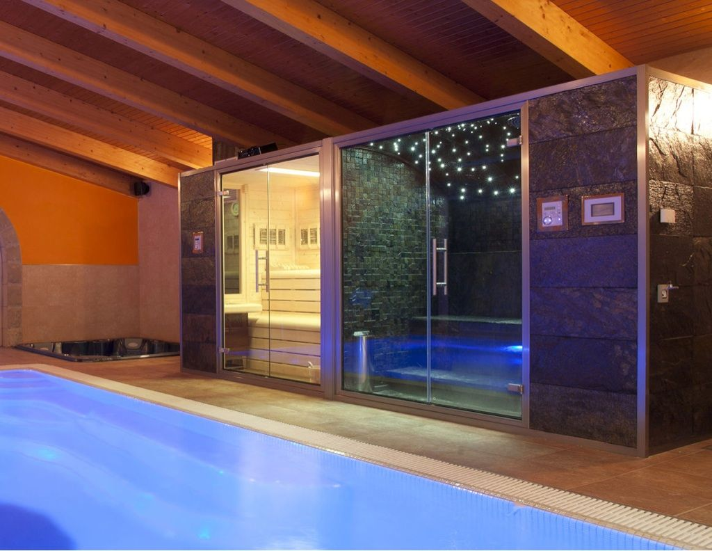 find this pin and more on patio pool garden my home a very inviting steam room - Home Steam Room Design