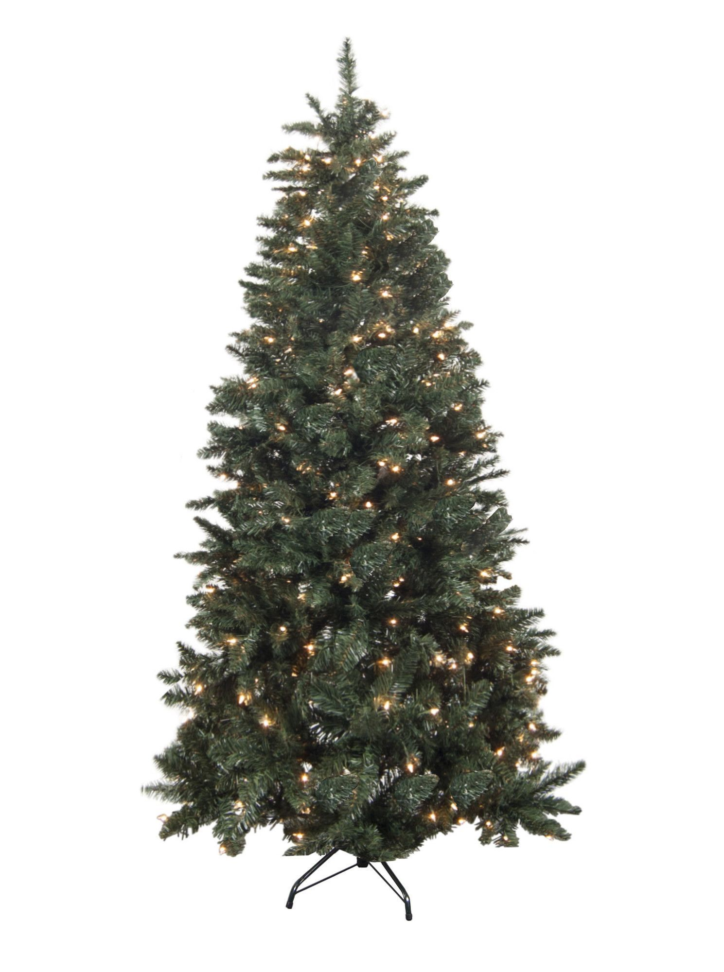 7 green douglas fir artificial christmas tree with 300 clear lights - Lowes Christmas Tree Stand