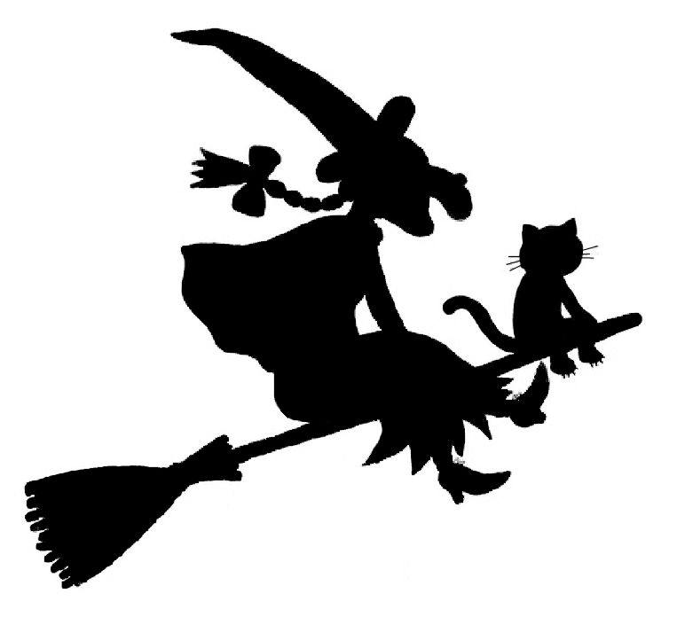 Room On The Broom Pumpkin Stencil Template Halloween Part 59