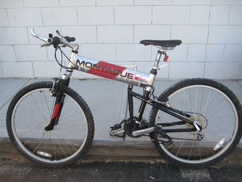 Montague Mx 20 Folding Mountain Bike Swiss Bike Off Road 24 Speed