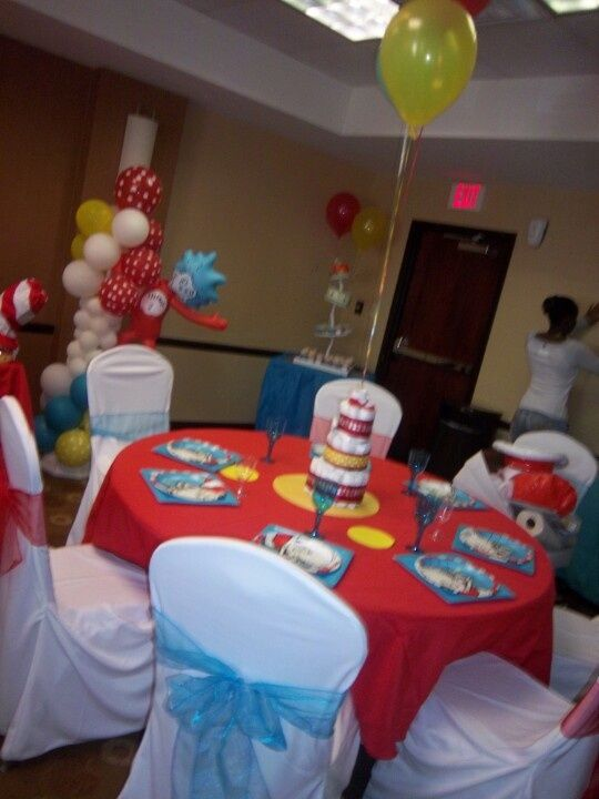Dr Seuss Baby Shower Ideas | Dr, Seuss Baby Shower Decorations | Baby  Showers And