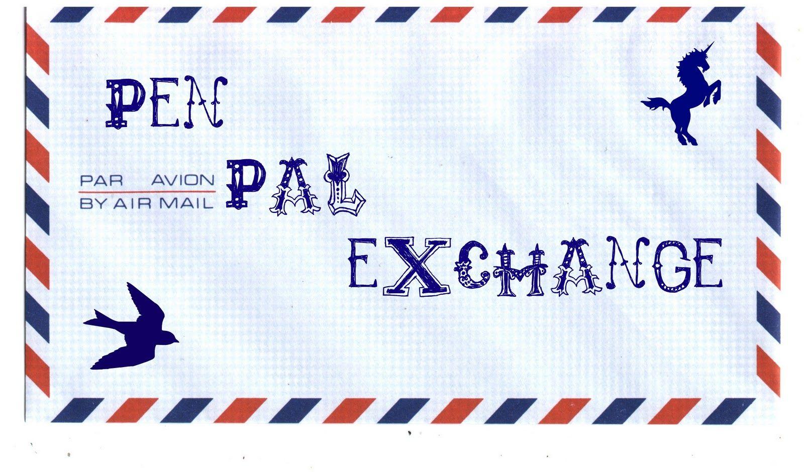 Pen Pal Application Pen pals, Snail mail and Snail