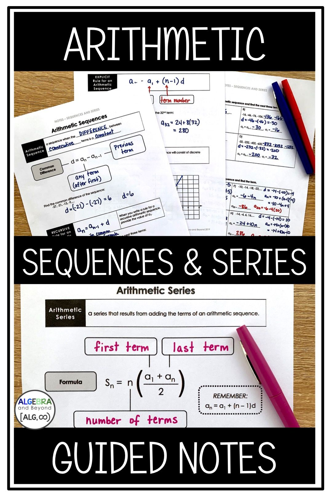 These Lessons Clearly Explain Arithmetic Sequences And