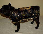 "Custom Order Cool Coat for Your Dog French Bulldog Pug Boston Terrier 18-20"" Collar. $69.00, via Etsy."