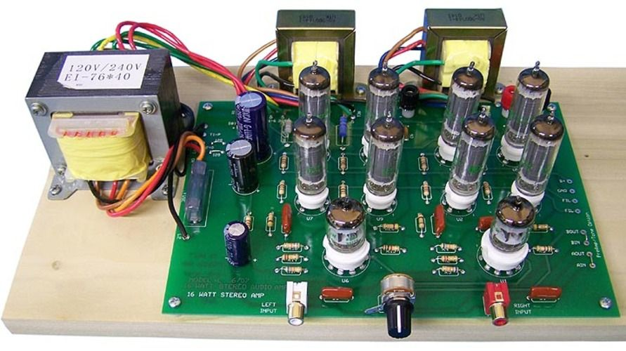 Model 16ls Stereo Integrated Tube Amplifier Diy Amplifier Valve Amplifier Amplifier