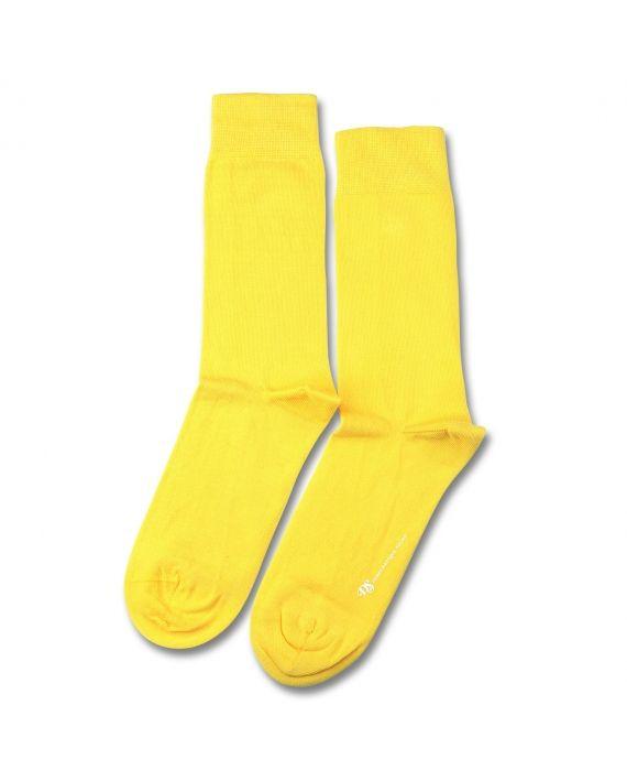 8bc02ee222bd9 C'est notre chaussette originale en une seule couleur - jaune. La ...