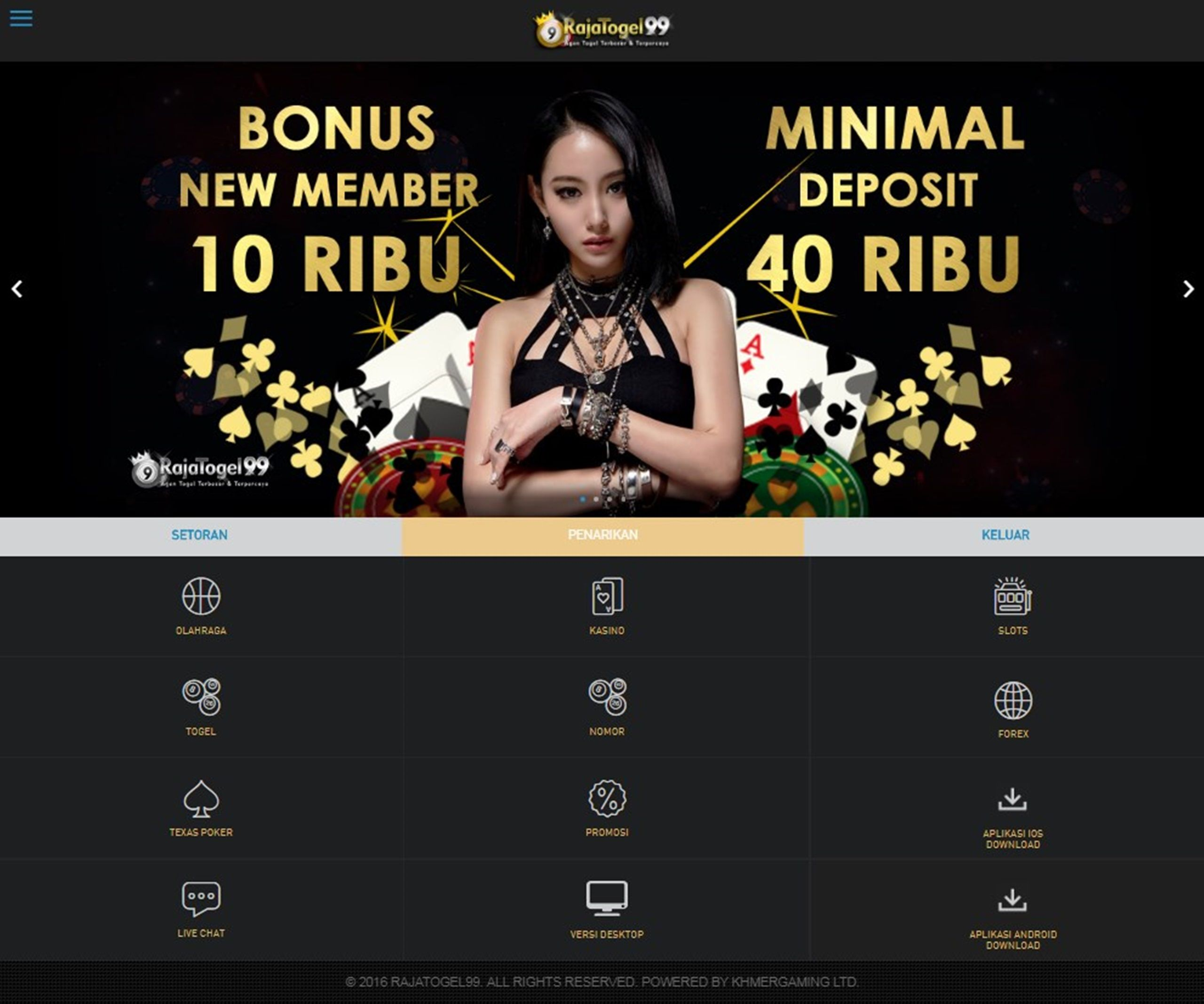 Bonus New Member 10k *. Togel Online *. Casino Online ...