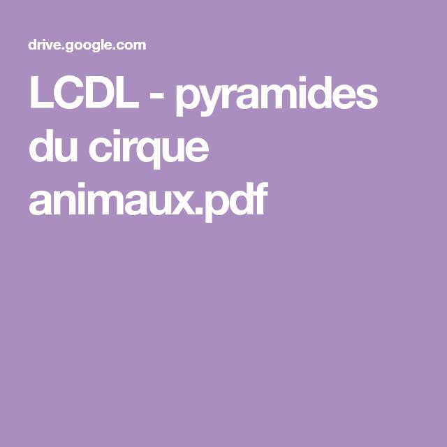 LCDL - pyramides du cirque animaux.pdf