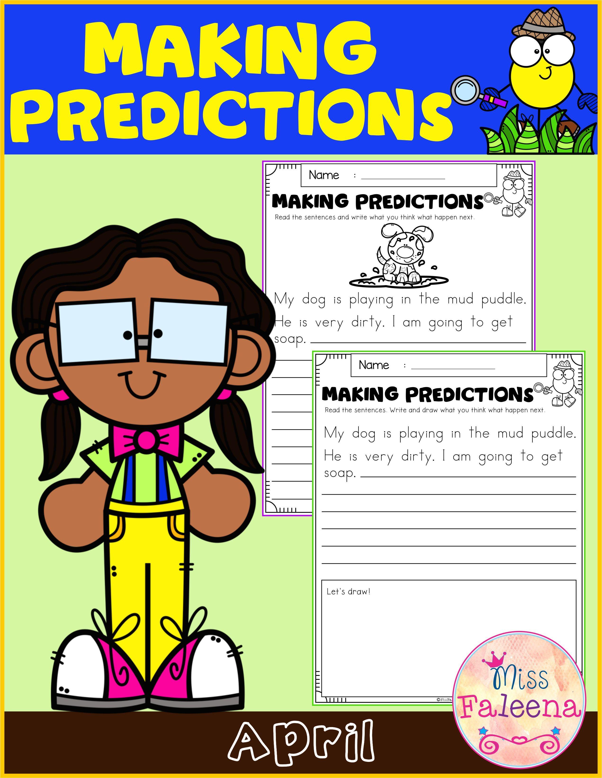 April Making Predictions Di